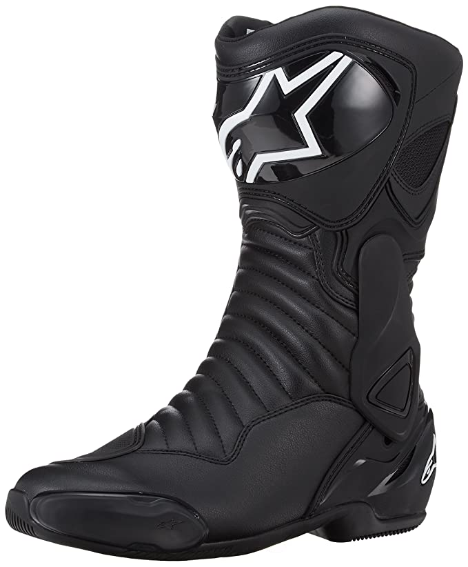 Alpinestars - Motorcycle boots - Alpinestars Smx-6 V2 Black White   alpinestars  Amazon.co.uk  Car   Motorbike 1b0004992ab