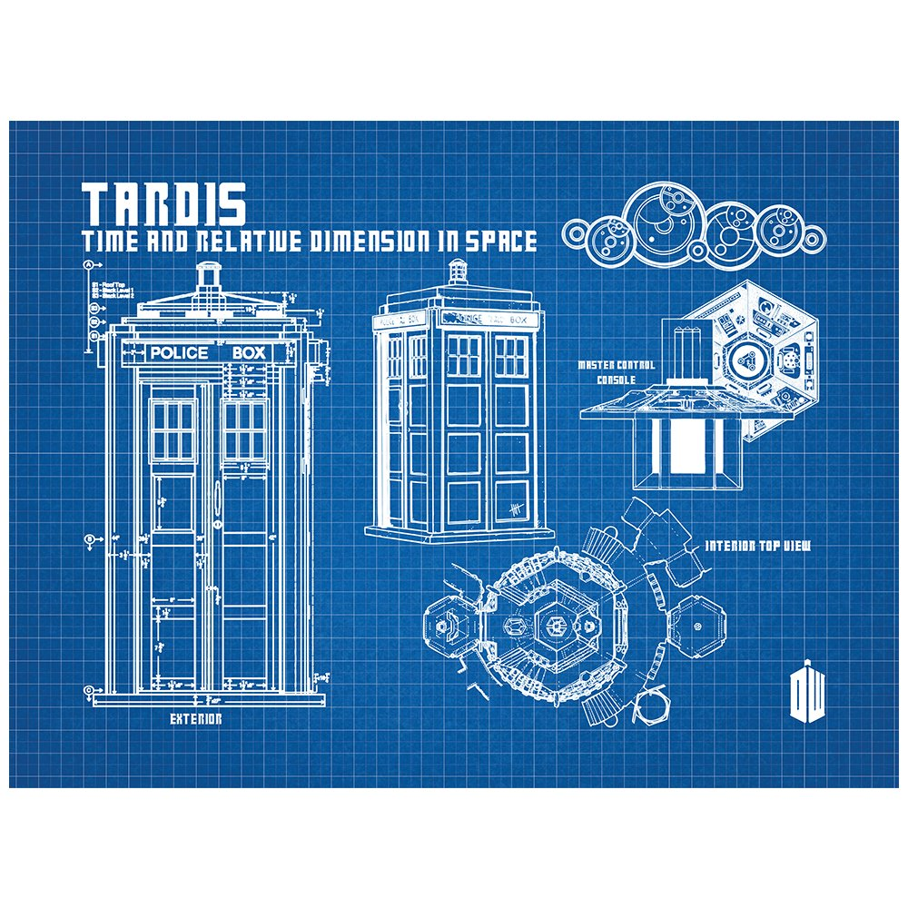 Amazon.com: Inked and Screened Sci-Fi and Fantasy Doctor Who ...
