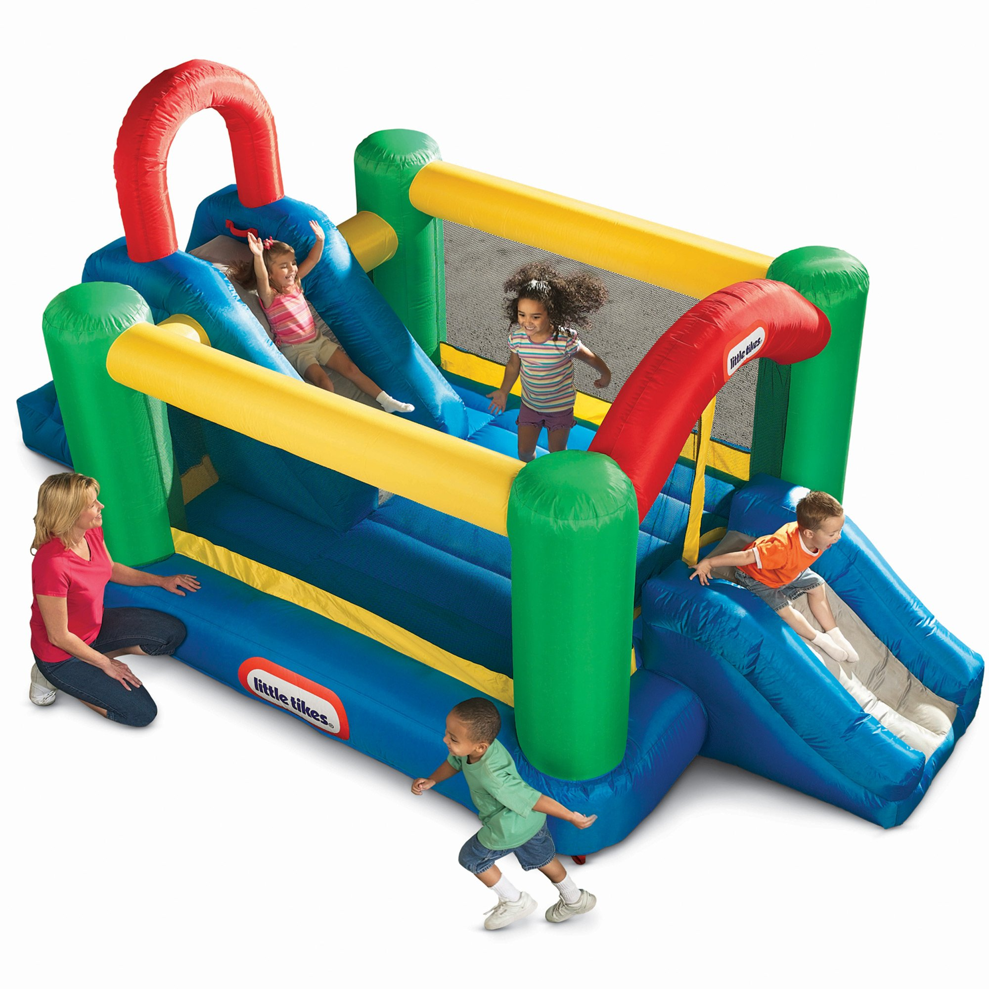 Little Tikes Jump and Double Slide Bouncer