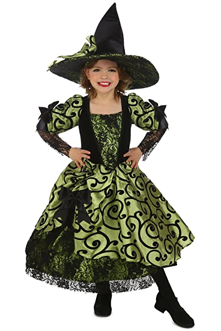 Princess Paradise Vintage Nell the Witch Costume, Multicolor, Medium (8)