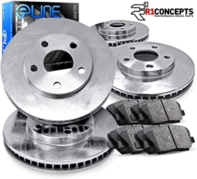 2000 2001 2002 for Hyundai Accent Disc Brake Rotors and Free Pads Front