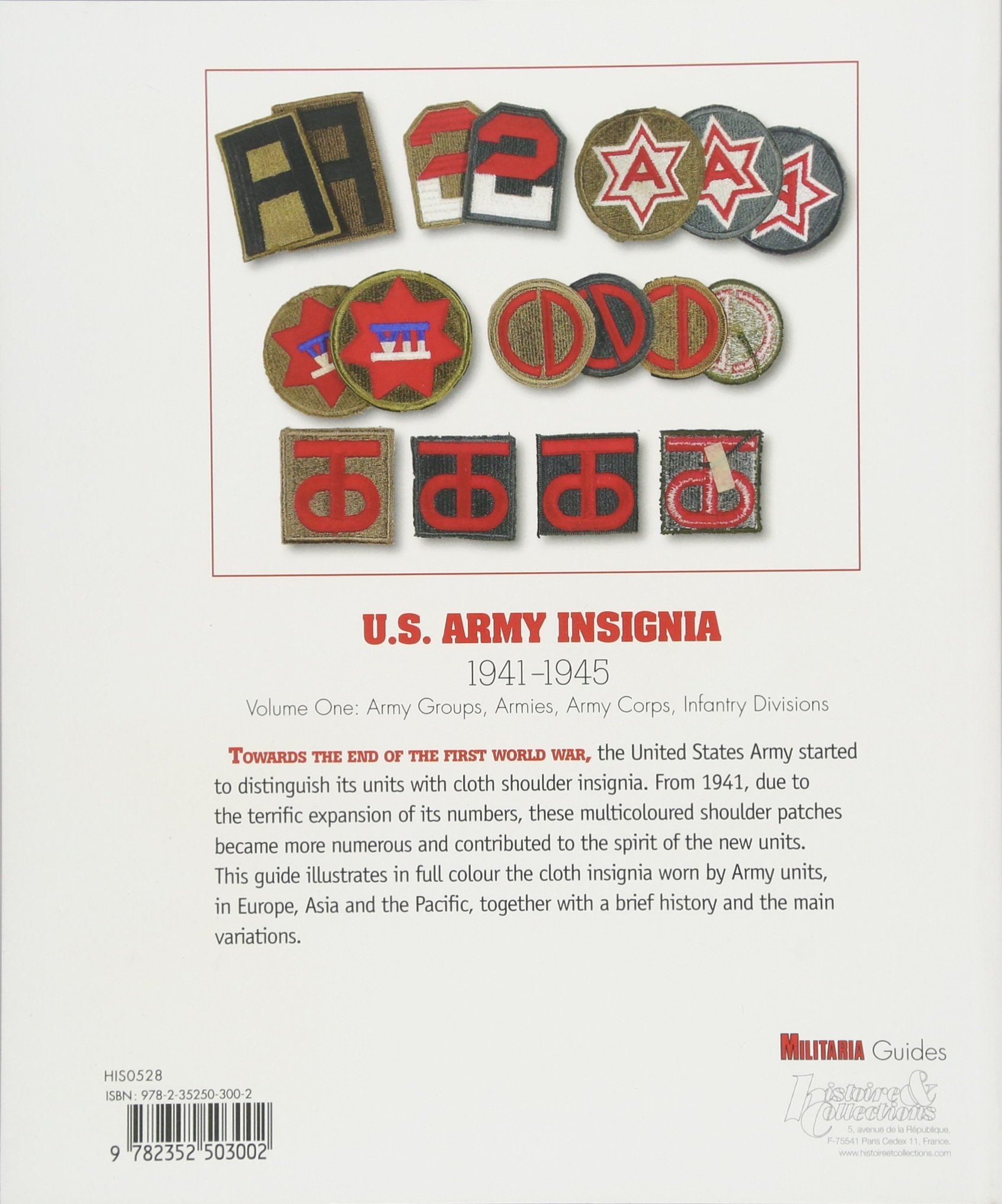U.S. Army Insignia: 1941-1945 (Militaria Guides): Pierre Besnard:  9782352503002: Amazon.com: Books