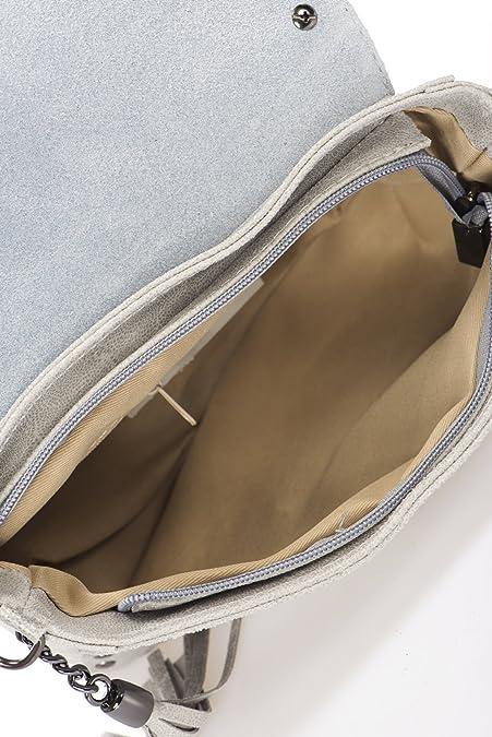 Mia Tomazzi WBMT180627-Grey (16) - ACCESSOIRE PETITE MAROQUINERIE - 189EUR  - Produit en Italie  Amazon.fr  Chaussures et Sacs 6336734f438