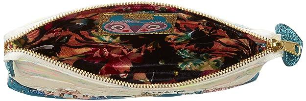Womens Birdie Applique Nylon Pencil Case Wallet Orla Kiely RS7DpC0
