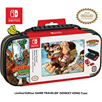 Officially Licensed Nintendo Switch Donkey Kong Carrying Case – Protective Deluxe Travel Case - Game Case Included