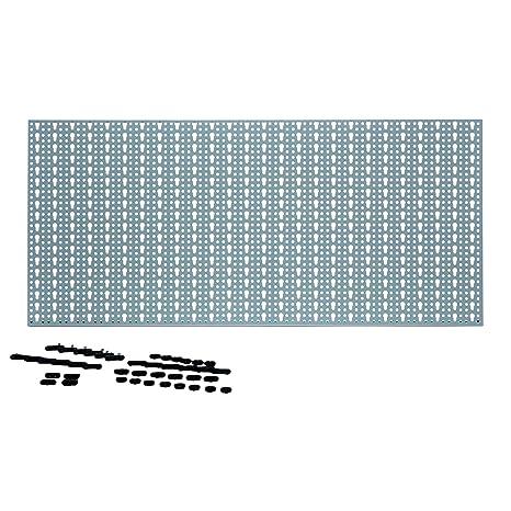 Berühmt acerto 40361 Metall Werkzeugwand, 46x98cm mit 44 Haken DG83