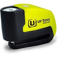 Urban security URBAN - Bloque Disque Alarm+ Ø6mm Jaune 120db + housse