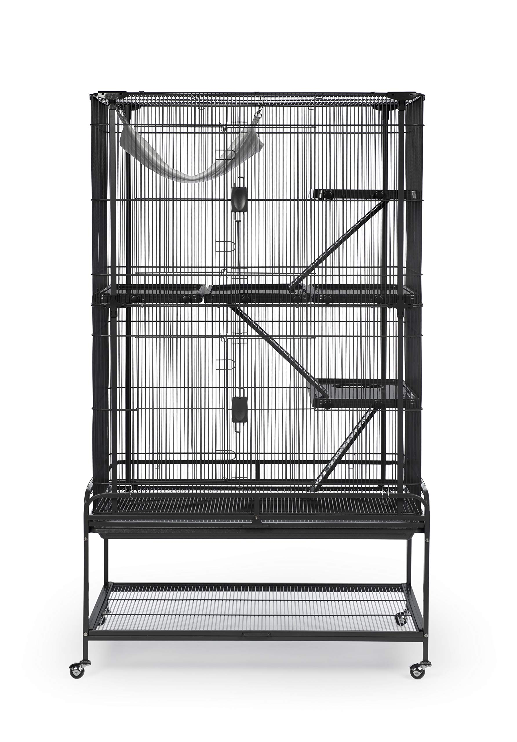 Prevue Pet Products Deluxe Critter Cage 484B, Black