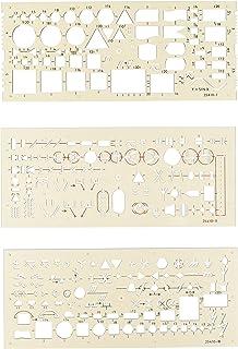 Set of 3 Electro Templates