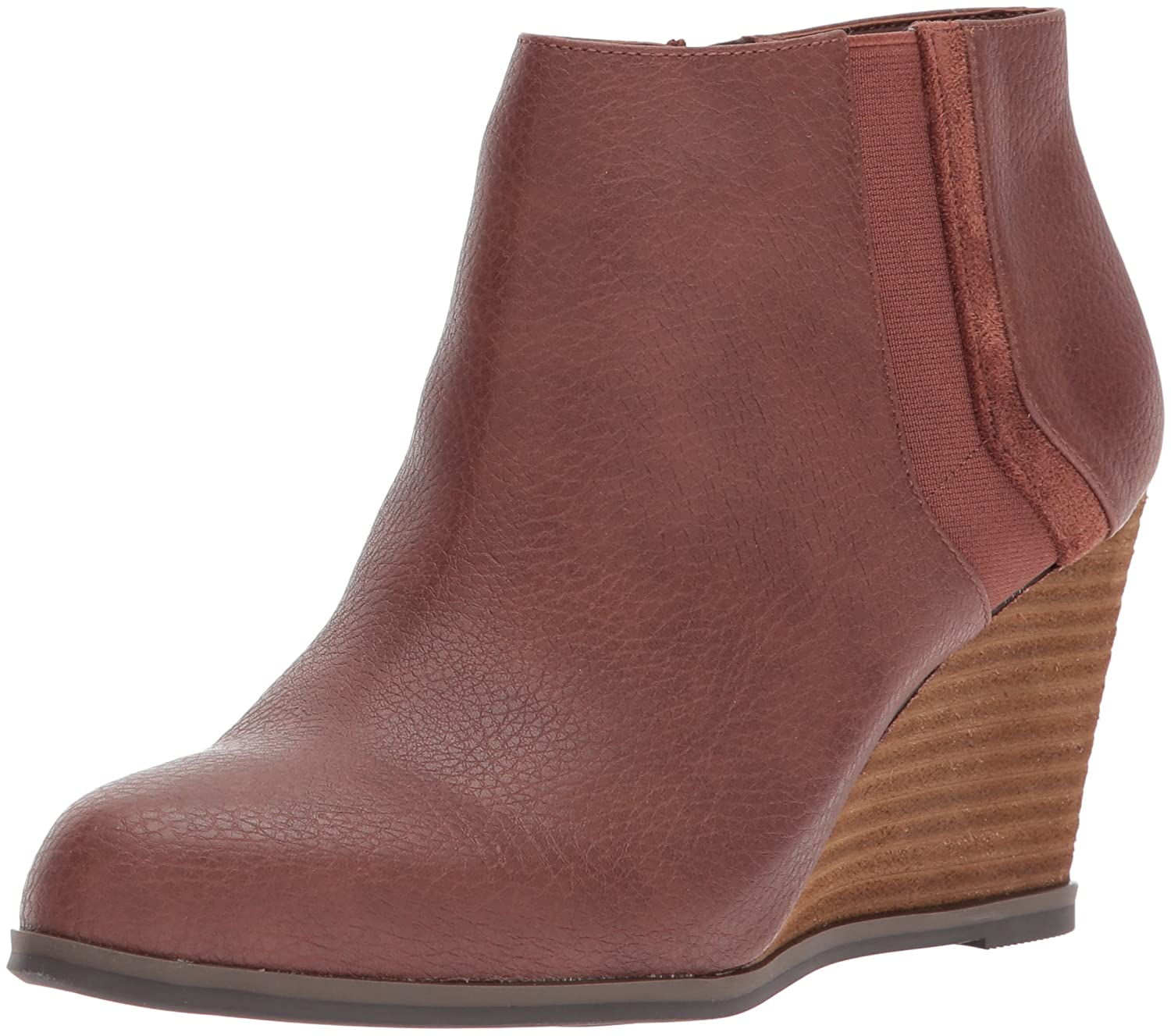 Dr. Scholl's Shoes Women's Patch Boot B071YJ2W4Z 6 B(M) US|Copper Brown Tumbled