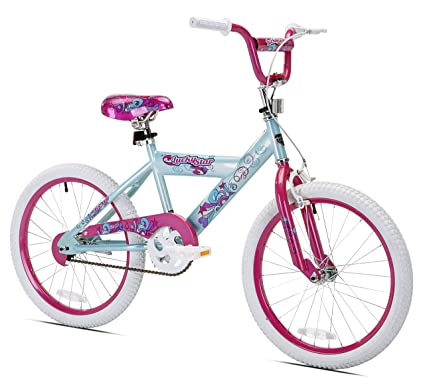 amazon com kent lucky star girls bike 20 inch childrens