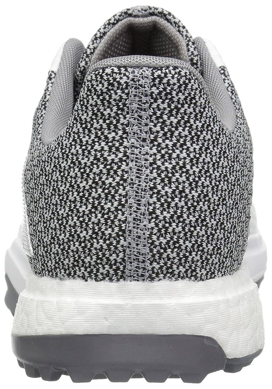 pick up 875aa b10c1 Adidas Golf Adipower S Boost 3 Zapatillas de golf para hombre Blanco    Plateado Metálico   Luz Onix