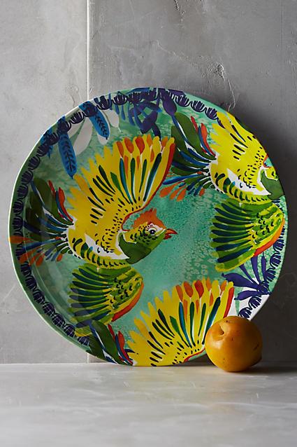 Aperta Melamine Dinner Plate - anthropologie.com
