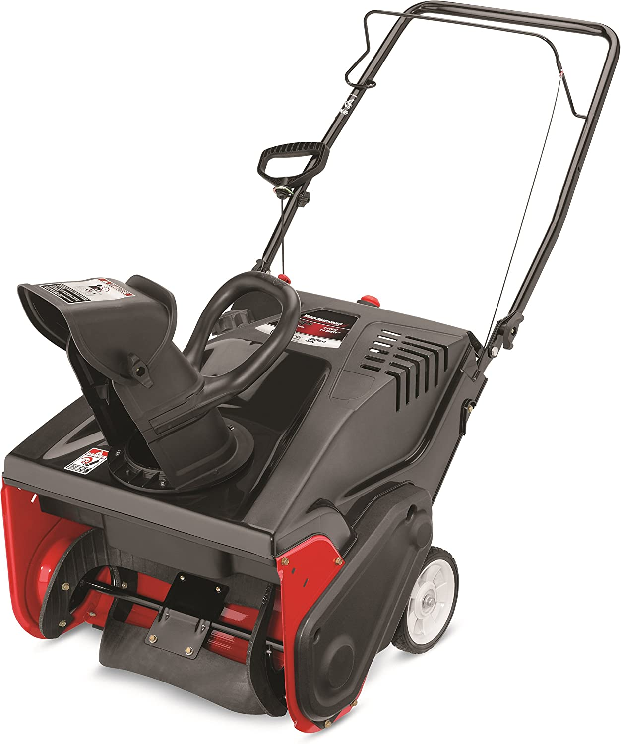 Amazon.com: Yard máquinas 123 CC OHV 4-cycle Gas Powered 21 ...