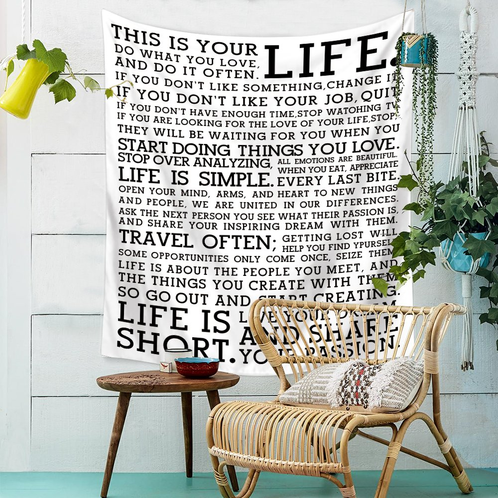 Change your thoughts Motivational Quote Wall art print Gift