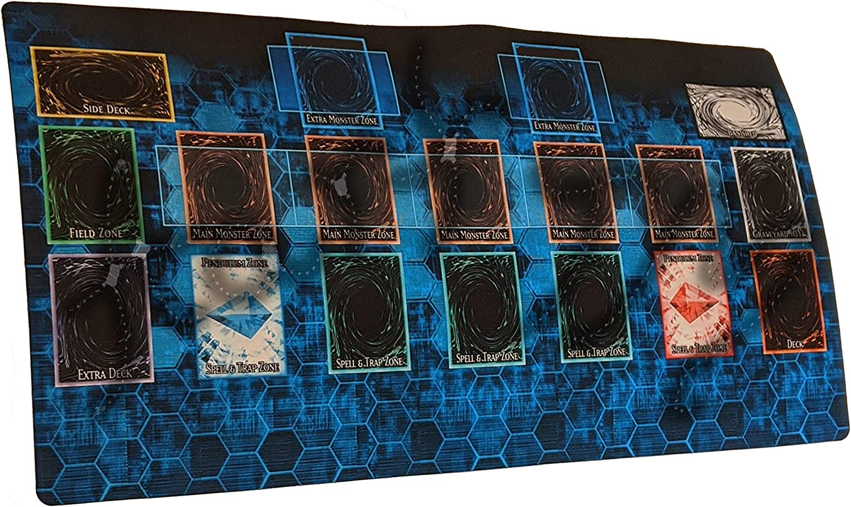 AArt TM Yugioh Master Rule 4 Link Zones Playmat TCG Playmat The Card Game Play Mat