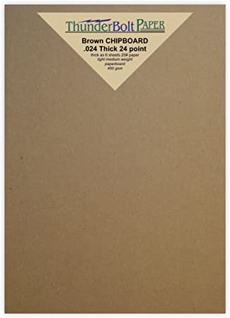 Amazon 150 sheets chipboard 24pt point 55 x 85 inches 150 sheets chipboard 24pt point 55 x 85 inches light medium weight half letter colourmoves
