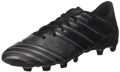 new arrival 9e29d 869ca adidas Nemeziz 17.4 FxG Chaussures de Football Entrainement Homme, Noir  Core Utility Black, 40