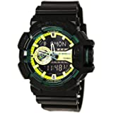 G-Shock GA-400 Sporty Illumi Series Watches - Black / One Size