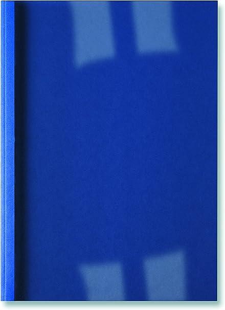 GBC Carpeta Térmica de Encuadernación LinenWeave, 4 mm, A4, Royal Azul, Pack de 100, IB386626: Amazon.es: Oficina y papelería