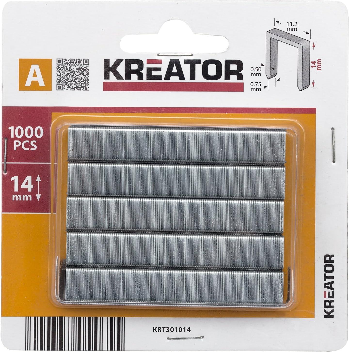 type A 10 mm 1000 st Kreator KRT301010 Nieten
