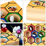 Fansport Toddler Baby Bee Hive Preschool Wooden