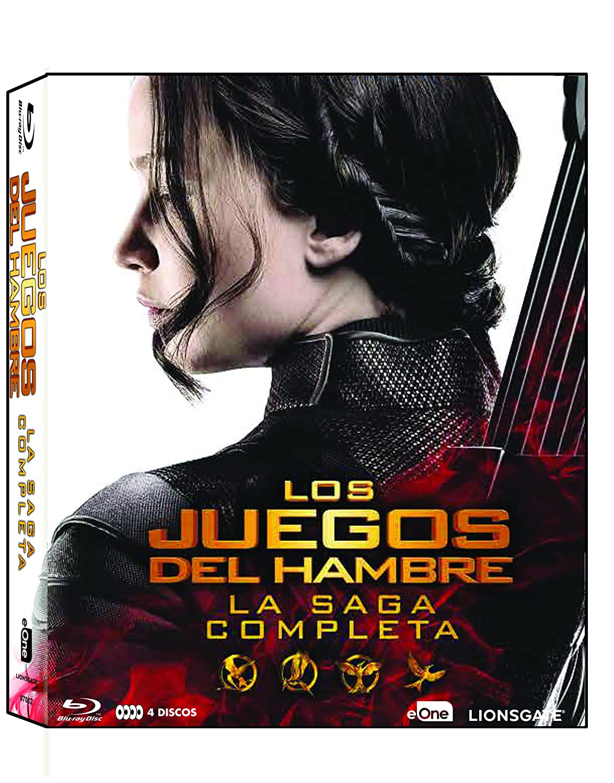 Los Juegos Del Hambre - La Saga Completa Blu-Ray 2016 Blu-ray ...