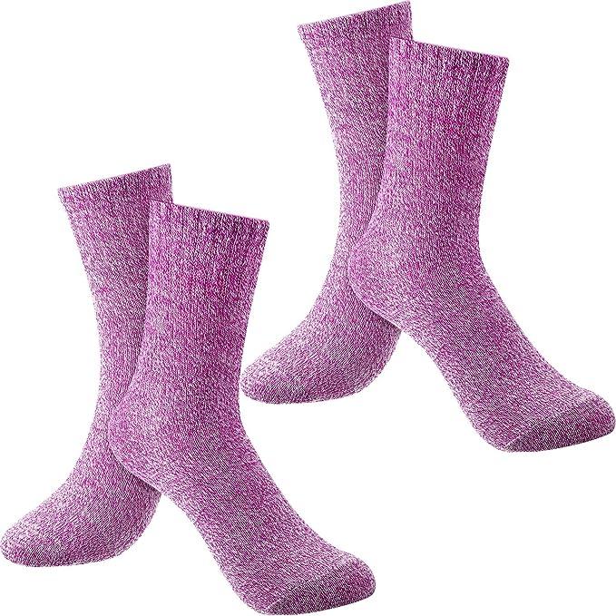 BEAUTPINE Calcetines de vell/ón de Coral de Color s/ólido Acogedor Gruesos Hombres Invierno sue/ño c/álido Tubo Medio Medias de Piso de Nieve Blanda para el Invierno