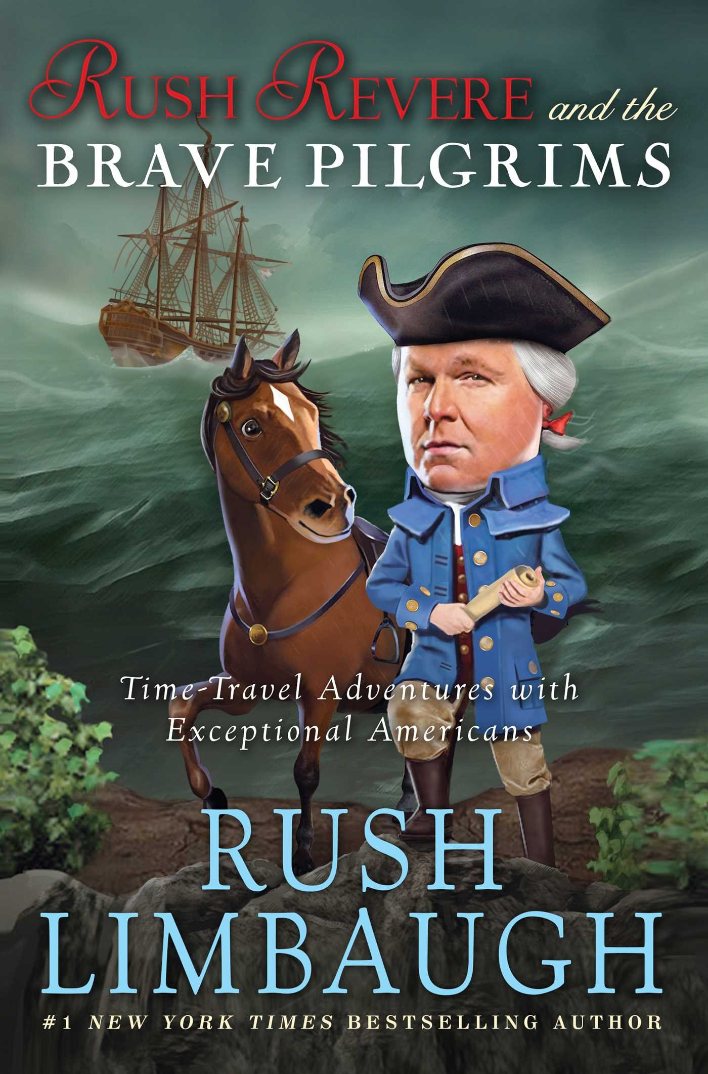 The Further Adventures of Rush Revere: Rush Revere and the Brave Pilgrims / Rush Revere and the First Patriots / Rush Revere and the American Revolution / Rush Revere and the Star-Spangled Banner by Threshold Editions (Image #3)