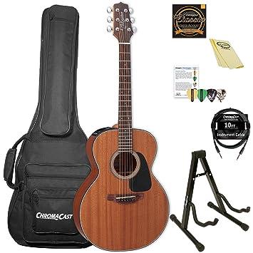 TAKAMINE gx11me-kit-2 caoba 3/4 tamaño taka-mini Electroacústica guitarra: Amazon.es: Instrumentos musicales