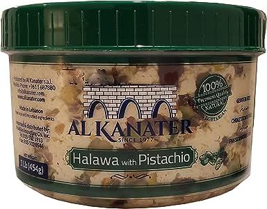 Al Kanater Pistachio Halva 1lb