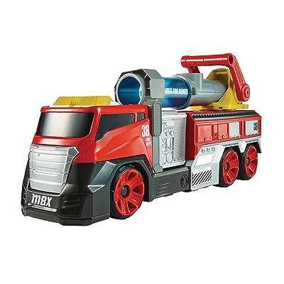 Matchbox Super Blast Fire Truck Vehicle: Toys & Games