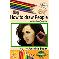 How to draw People: with colored pencils