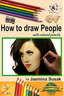 how to draw realistic portraits with colored pencils colored