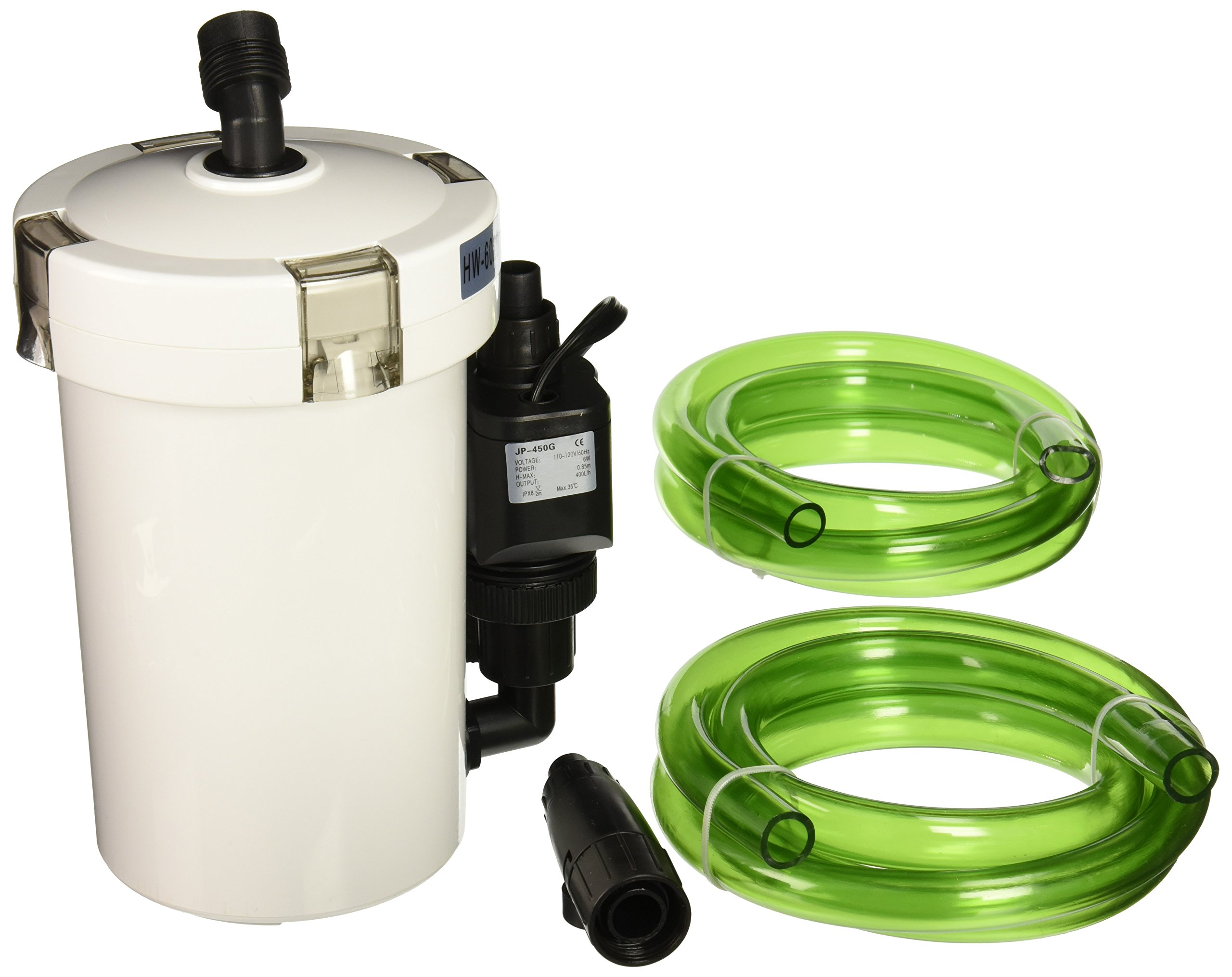 SunSun Tech'n'Toy HW-602B 106 GPH 3-Stage External Canister Filter
