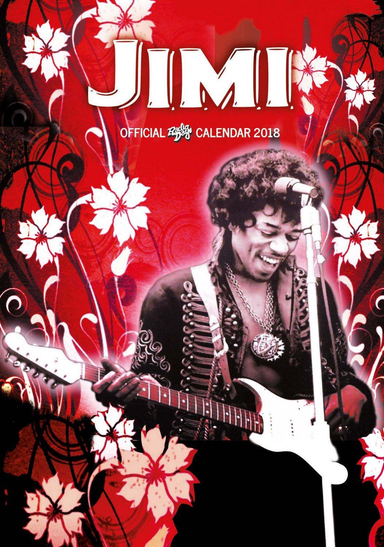 Download Jimi Hendrix Calendar - Calendar 2017 - 2018 Calendars - Music Calendar - 12 Month Calendar by Dream ebook