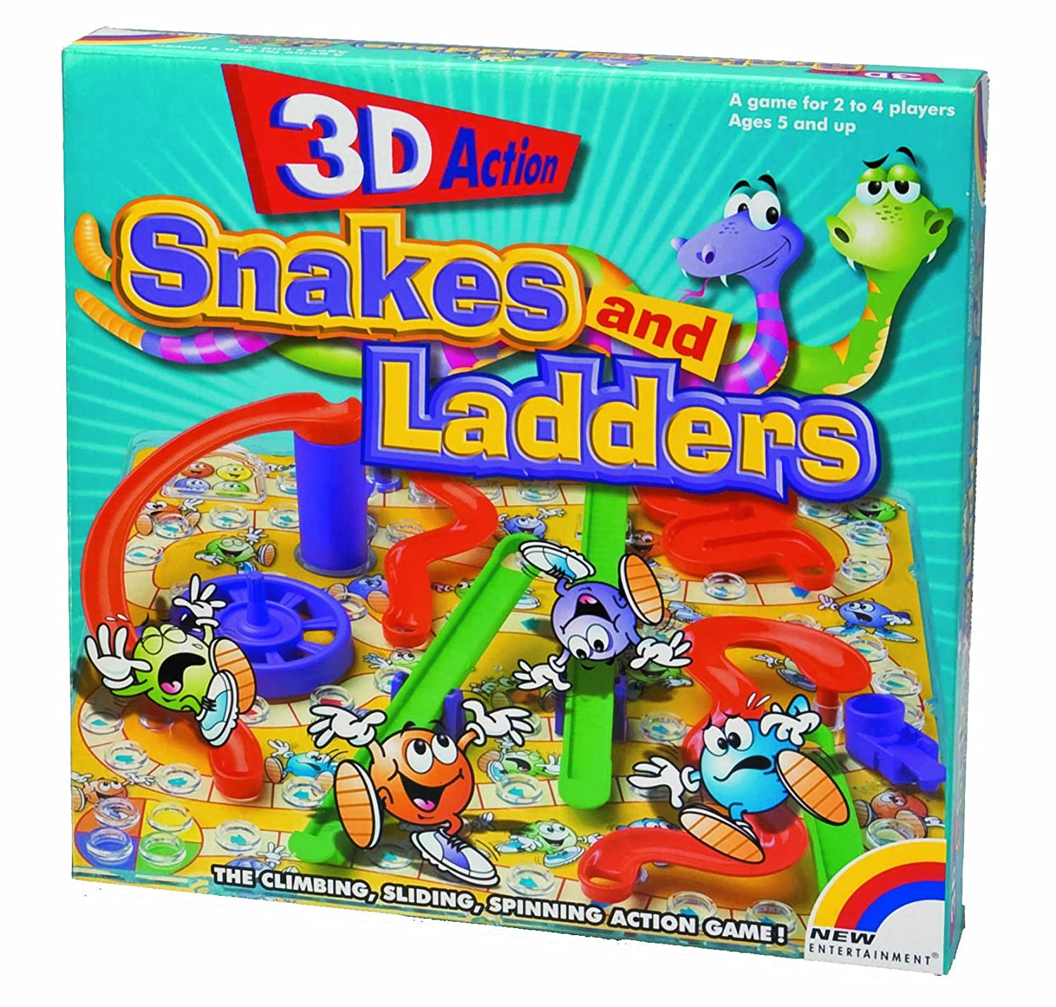 3D Snakes And Ladders Intex Syndicate LTD 1380