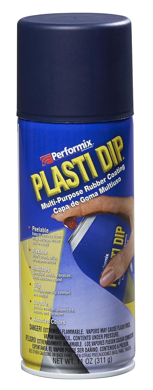 Plasti Dip 11253 Pellicola Spray Removibile, Nero/Blu 11253-6