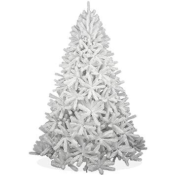 Weihnachtsbaum Künstlich 240 Cm.Amazon De Weißer Künstlicher Weihnachtsbaum 240cm In Premium