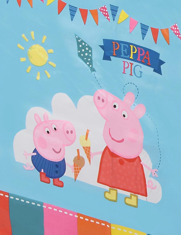 Amazon.com: Peppa Pig – Mantel de plástico – 138 cm X 183 cm ...