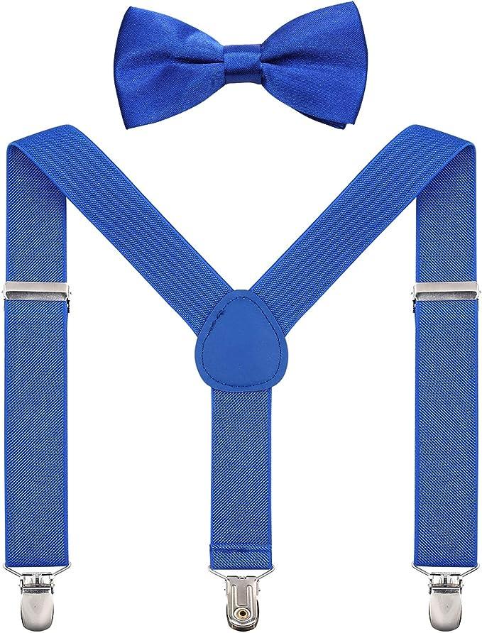Verstellbare Hosenträger Mit Clip Und Fliege Für Babys Kleinkinder Und Kinder