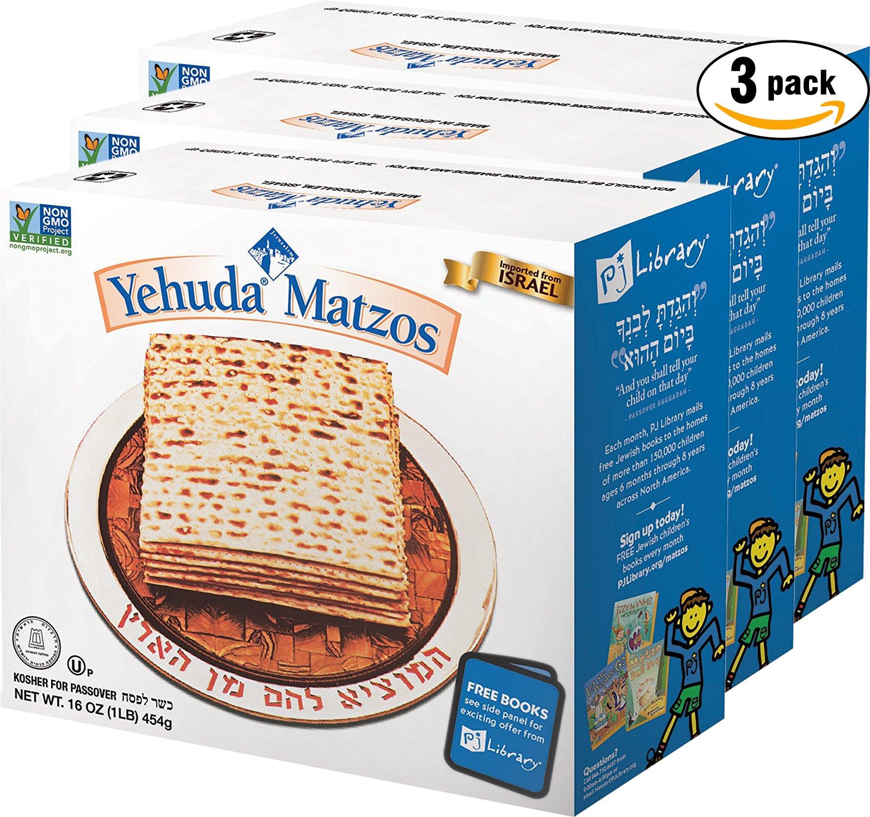 Yehuda Matzo (Kosher for Passover) (3 Pound) by Yehuda