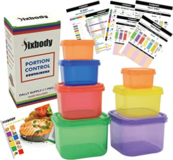 Fixbody 7Pc. Containers Kit