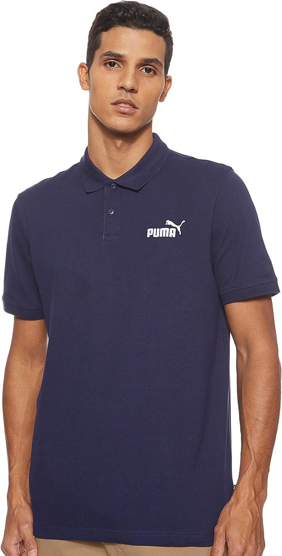 PUMA Essential Pique Polo H Camiseta de Manga Corta, Hombre ...