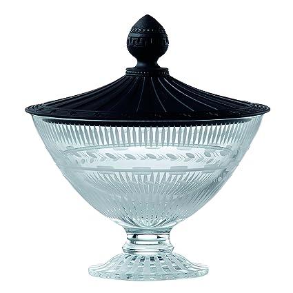 Amazon Wedgwood Iconic Crystal Vase With Jasper Lid 77 Inch