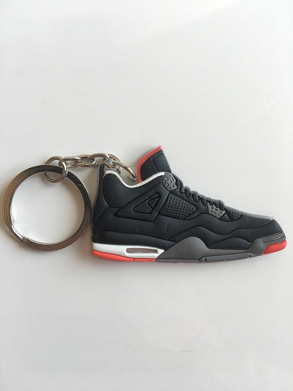 Amazon.com: Jordan Retro 4 Criados Sneaker llavero zapatos ...