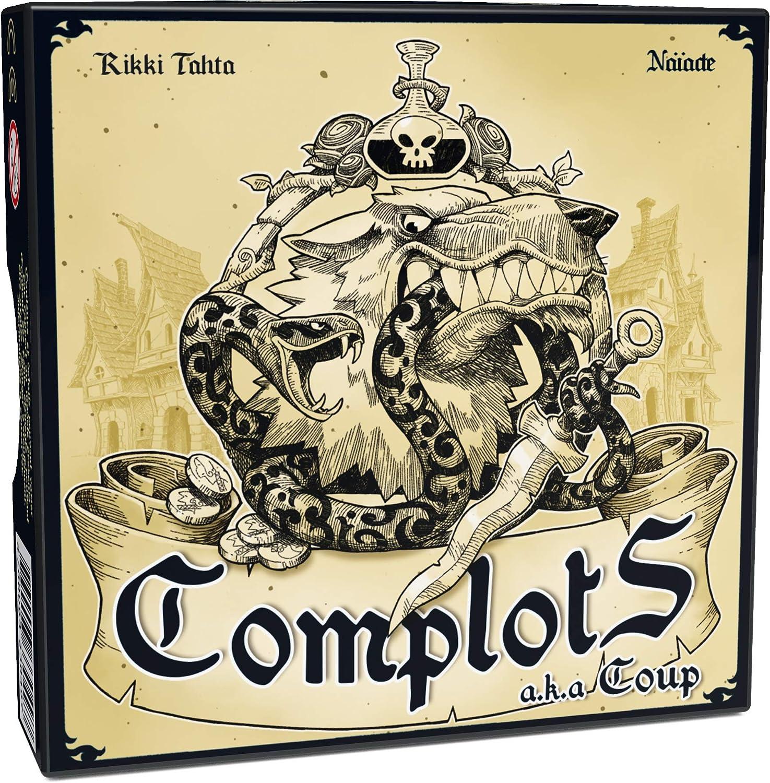 Ferti Games – Juego de salón, com002 – complots: Amazon.es ...
