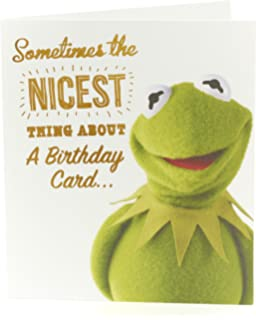 Photographic greeting card wdm8134 birthday happy days funny birthday card the muppets birthday card kermit the frog ideal gift card for m4hsunfo