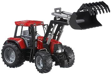 Bruder 02092 case traktor cvx170 mit frontlader: amazon.de: spielzeug