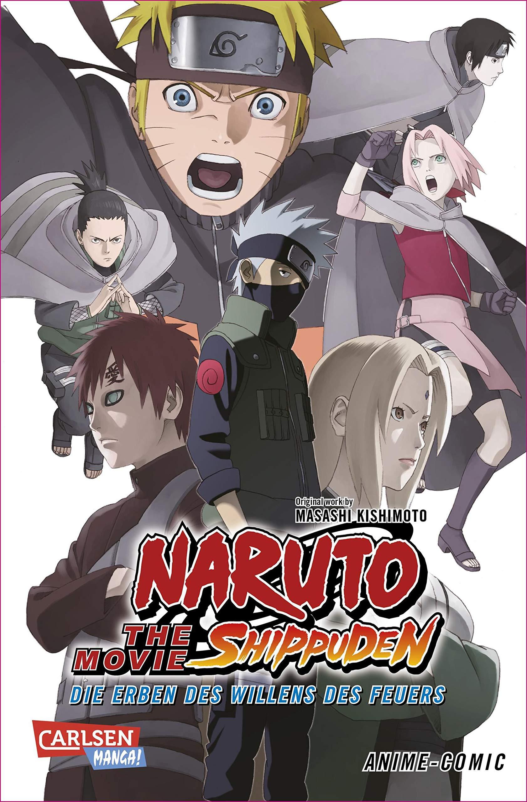 Naruto the Movie: Shippuden - Die Erben des Willens des ...